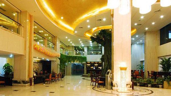 皇翰墙布与景文商务宾馆达成酒店墙布施工协议