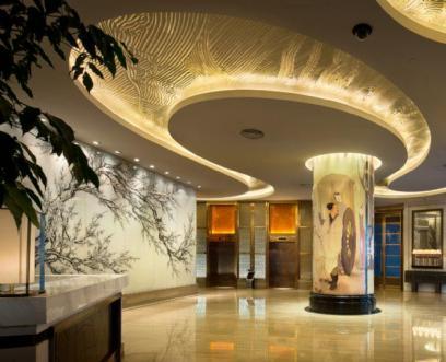 日本壁纸宾馆装饰案例
