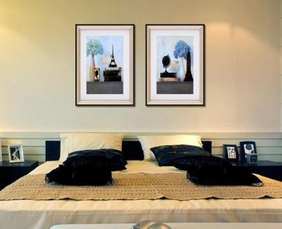 别墅无缝高端墙布装修案例