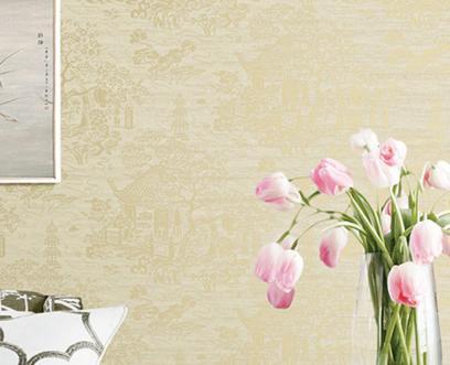 别墅无缝高端墙布经典装修案例